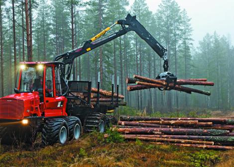 Лесозаготовительная техника Komatsu