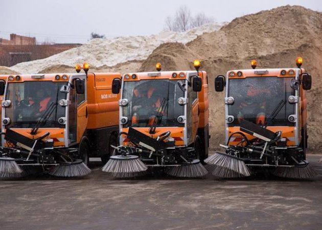 Машины для уборки снега