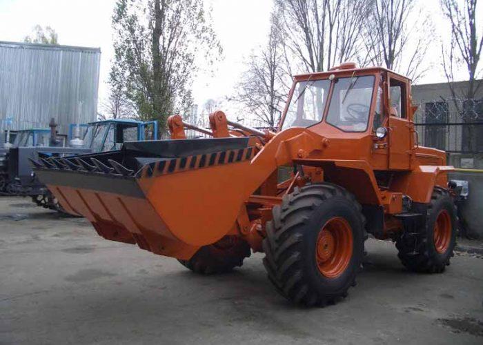 Одноковшовые тракторные погрузчики