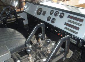 Панель управления бульдозера Т-330