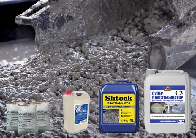 Пластификаторы для бетонного раствора