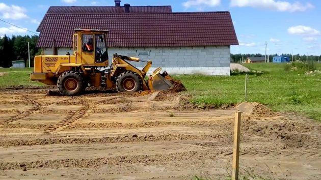 Подготовка земельного участка для строительства дома