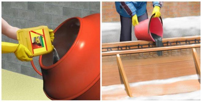 Применение противоморозных добавок в бетон