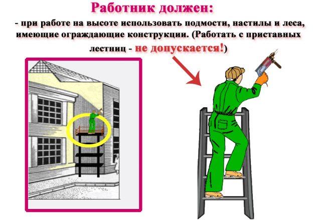 Работа с электроинструментом