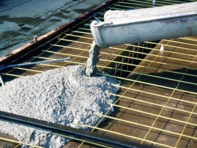 Рассчет давление бетона