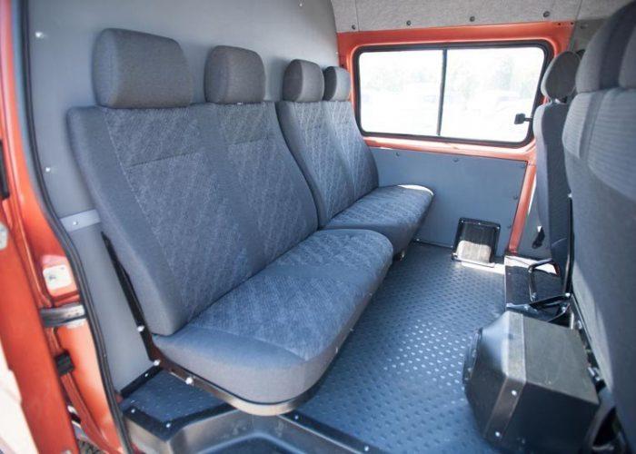 СалонГаз 2705 сиденья с более новой модели