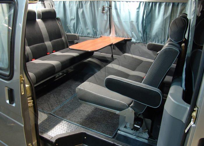 СалонГаз 2705 вариант размещения сидушек в кузове