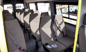 Пассажирские места в газели Луидор-225000