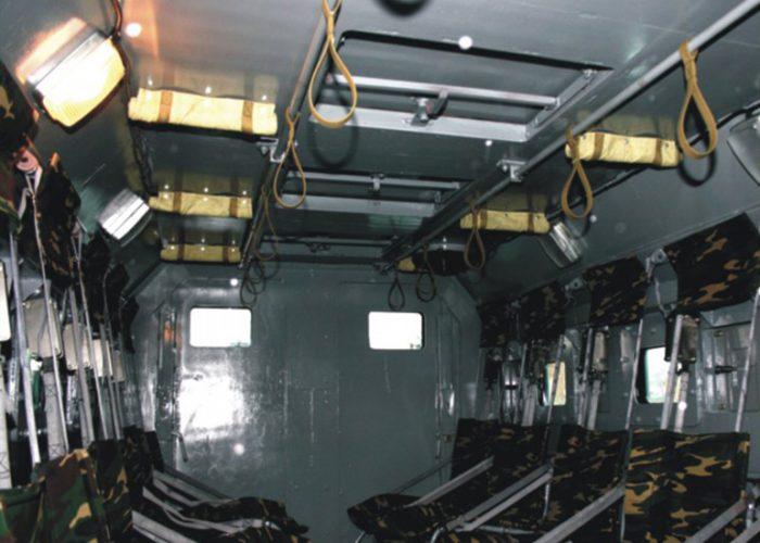 СалонУрала 4320 салон кузова