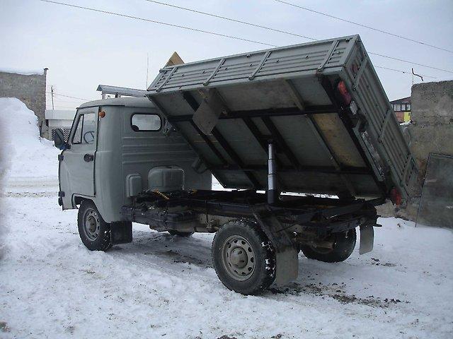 Самосвал из УАЗ-3303