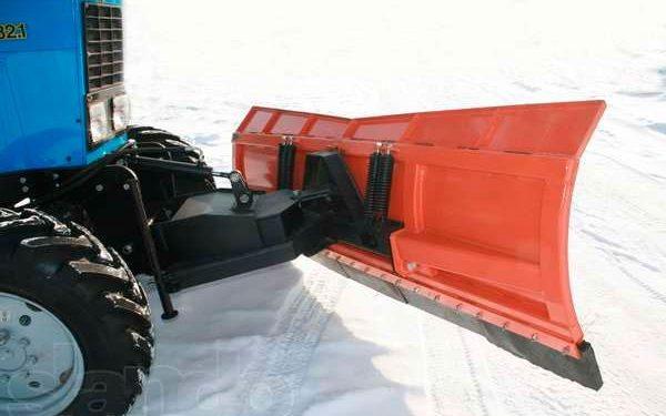 Снегоуборочный отвал на МТЗ-82