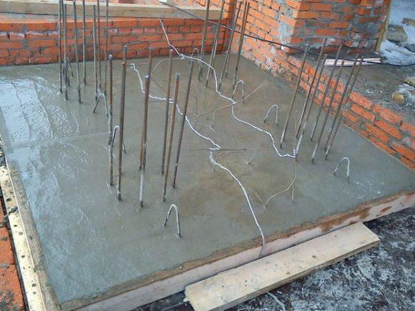 Стержневые электроды для бетона