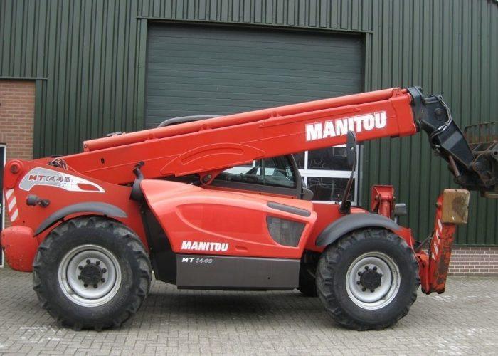 Телескопический погрузчик Manitou МТ-1440