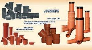 Типы пластиковых труб для канализации