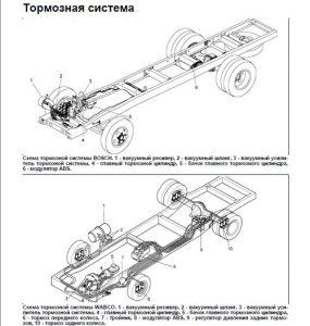Тормозная система Hyundai HD-78
