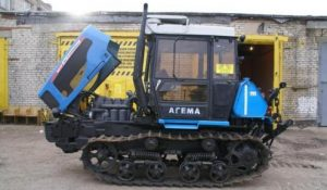 Трактор 90 ДТ Агромаш - вид сбоку
