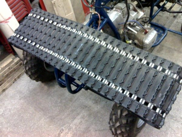 Транспортерная лента для гусениц мотоблока