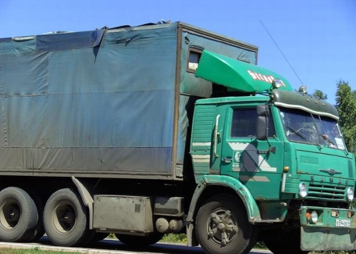 Тюнинг Камаза 5320 кабины зеленой