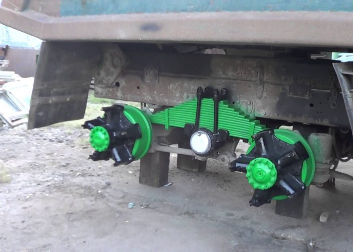Тюнинг Камаза 5320 подвески