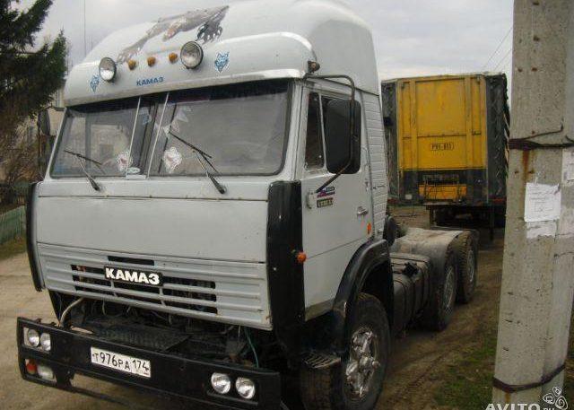 Тюнинг Камаза 5320 серого