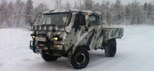 УАЗ-390945 Фермер тюнингованная