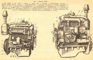 Устройство двигателя МТЗ-80