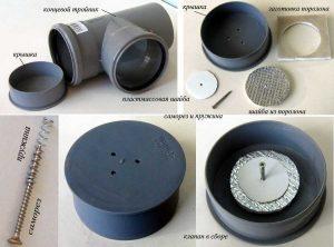 Устройство клапана вентиляции канализации