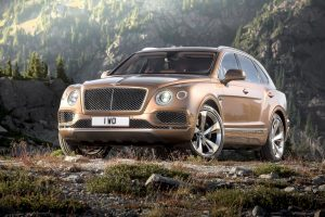 Внедорожник Bentley Bentayga