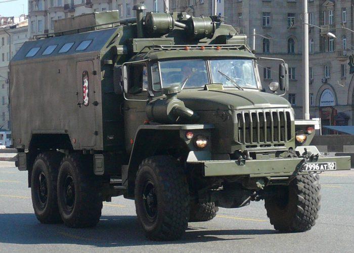 ВоенныйУрал 4320 армейский