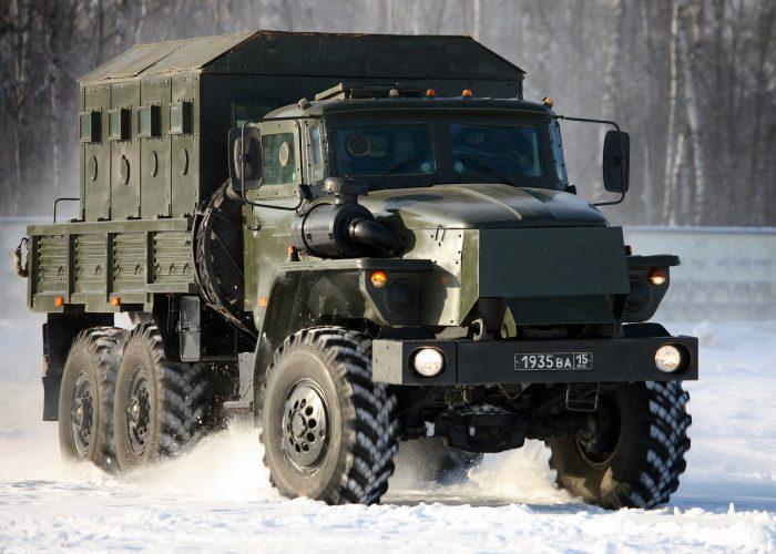 ВоенныйУрал 4320 новый