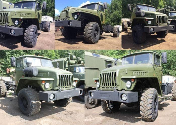 ВоенныйУрал 4320 военный тягач
