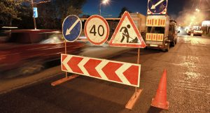 Знаки при строительстве дорог