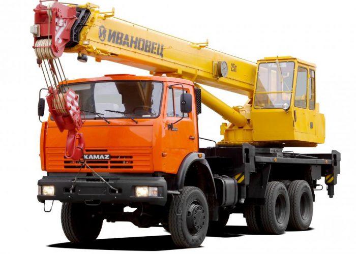 Автокран КамАЗ 53229