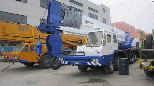 Автокран TG550E