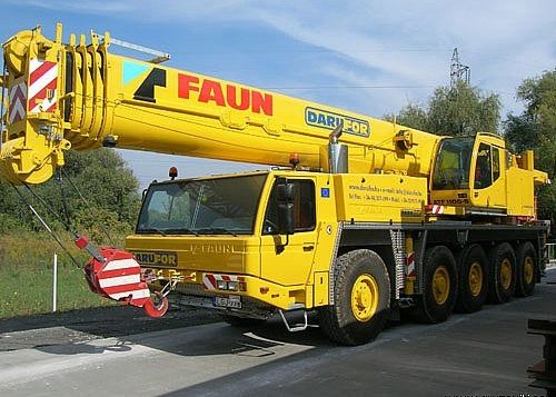 Автокран Todano-Faun ATF 110-G5