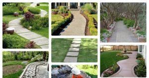 Бетонные дорожки в саду – красота и удобство для дачного участка