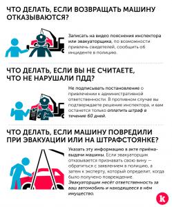 Что нужно знать об эвакуации автомобиля
