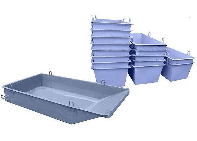 Емкость для бетонной смеси