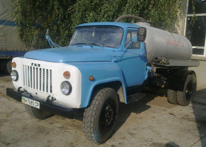 ГАЗ-53 ассенизатор