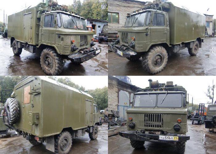 ГАЗ-66 КУНГ (с консервации)