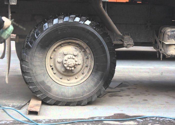 ГАЗ 66 Обработка колес