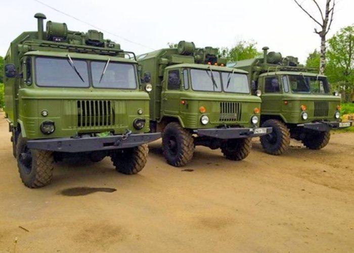 ГАЗ-66 кунг с консервации