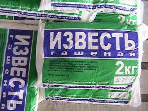 Гашеная известь применяется в изготовлении пластификатора для бетона