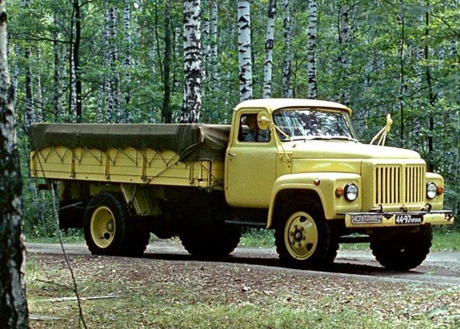 Грузовой автомобиль ГАЗ-53-11