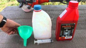 Использование отработанного масла для бензопилы