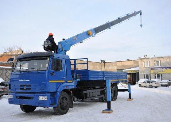 КАМАЗ-65117 с КМУ Донг Янг