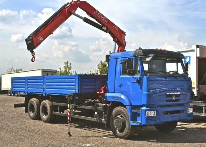 КАМАЗ-65117 с КМУ Fassi