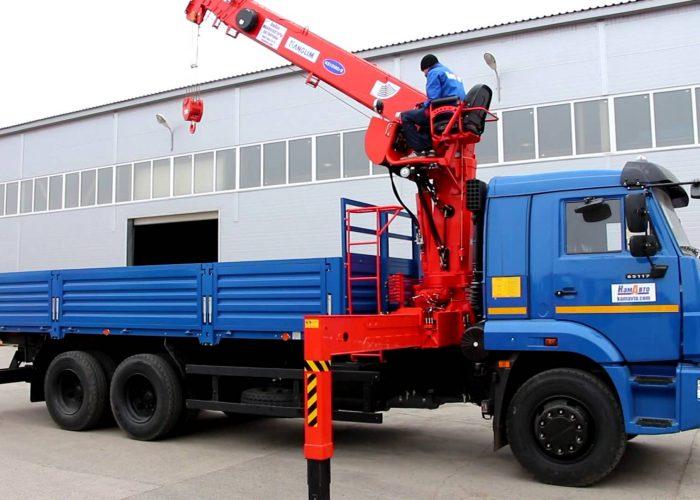 КАМАЗ-65117 с КМУ Канглим