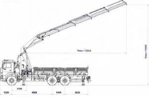 КМУ КамАЗ 6520 технические характеристики