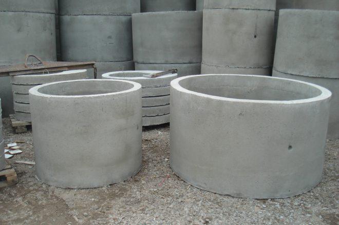 Кольца ЖБИ для канализации